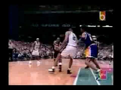 1999 NBA Playoffs: San Antonio Spurs vs Los Angeles Lakers