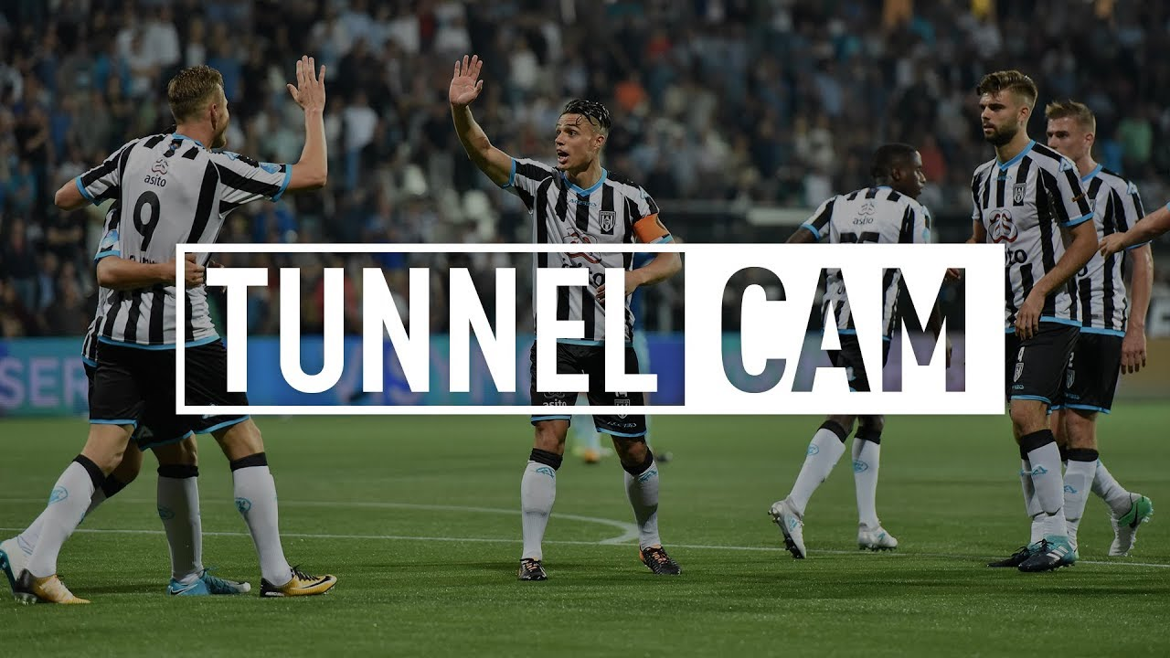 Heracles Almelo - Excelsior 2-2 | 26-08-2017 | Tunnel Cam