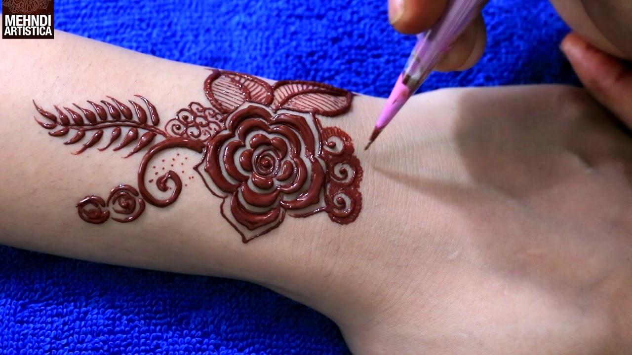 New Mehndi Tattoo Design 2018