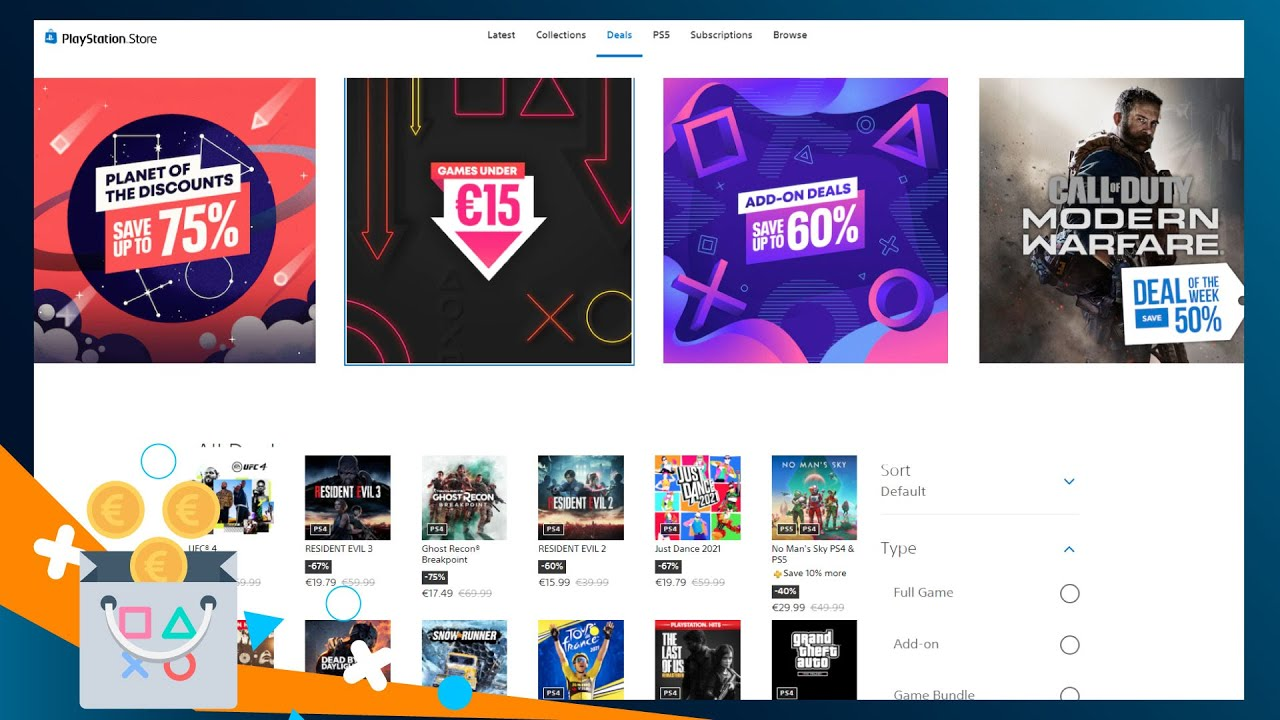 """""""Πλανήτης εκπτώσεων"""" στο PS Store, Games κάτω από 15€   Προτάσεις Αγοράς"""