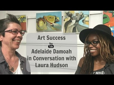 Art Discussion: Adelaide Damoah in Conversation with Laura Hudson