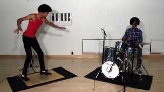 Taps & Drums Jam with Aaron & Aaron