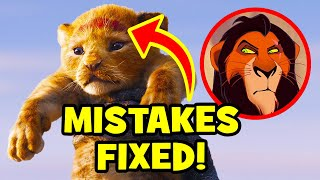 17_Disney_Mistakes_FIXED_In_THE_LION_KING_(2019)