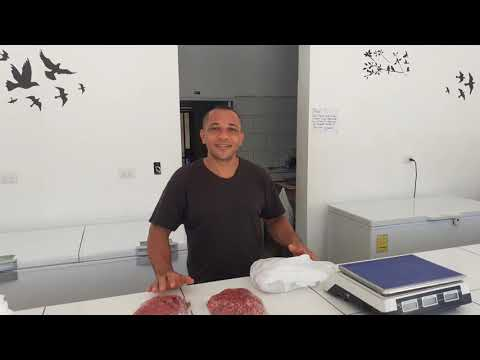 "Butcher ""Carnicería David"" A new well stocked and efficient butchery & shop located in Cabarete"