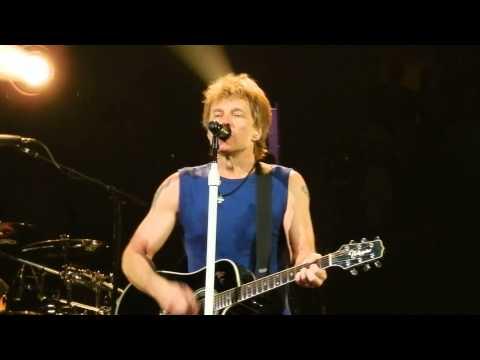 Bon Jovi - Wanted Dead Or Alive W Phil X - American Airlines Center - Dallas, TX - April 11 2013