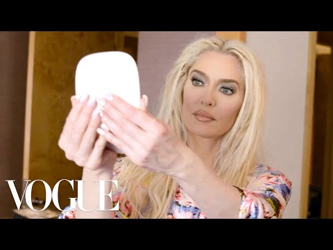 Erika Jayne Gets Ready for the Marc Jacobs Fashion Show  Getting Ready With  Vogue