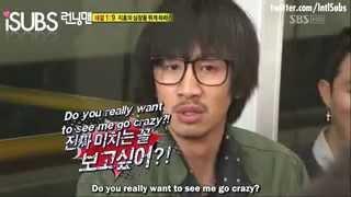 Running Man : Kwang Soo Scolded Ji Hyo