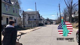 NY STREET RAPORT: EPISODE 05 (OPUSZCZONE MIASTO, POLICJA WYRZUCIŁA NAS ZE SKATEPARKU)