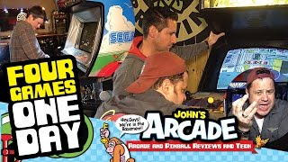 Four Arcade Games - ONE DAY