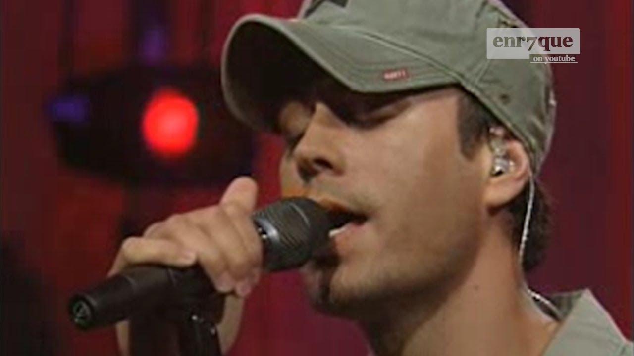 Enrique Iglesias - Somebody's me (LIVE, Uploaded Dec 20, 2018)