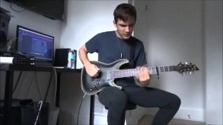 BURY TOMORROW | Earthbound | (NEW SONG 2015) GUITAR COVER HD
