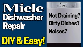 Miele dishwasher F70 fault 5 min TEMPORARY fix - Свежий