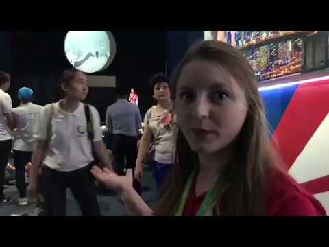 Tour of USA Pavilion at Astana 2017 (in Russian)