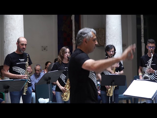 Cápsulas VEM 2019 Ensemble de Saxofones del Conservatorio Municipal