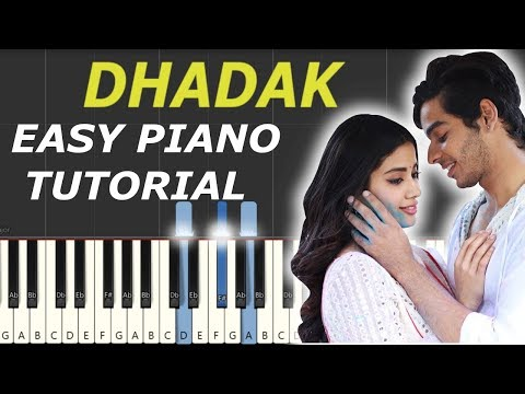dhadak instrumental song