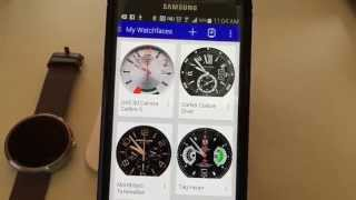 How to turn your Moto 360 Smartwatch into a Designer Watch(In this video I will show you how to transform you Moto 360 into a Designer smart watch Thanks for watching! Subscribe: https://www.youtube.com/user/ebpman ..., 2014-10-19T16:18:40.000Z)