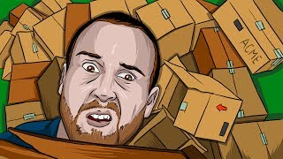HORRIBLE BOX FORT (Garry
