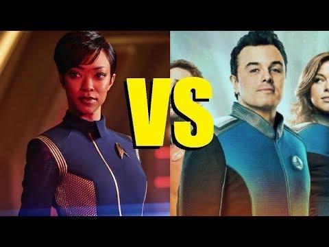 Star Trek Writer on Star Trek Discovery Vs. The Orville!