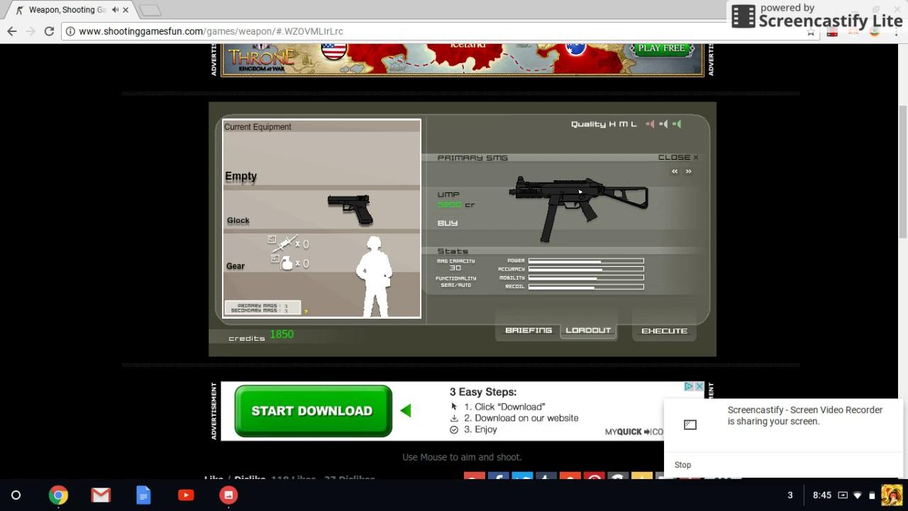 Chromebook Fps Game Youtube