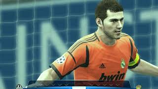 Real Madrid 🆚 Juventus F.C UFA Champions League Final   Penalty Kick Out Pro Evolution soccer 2013