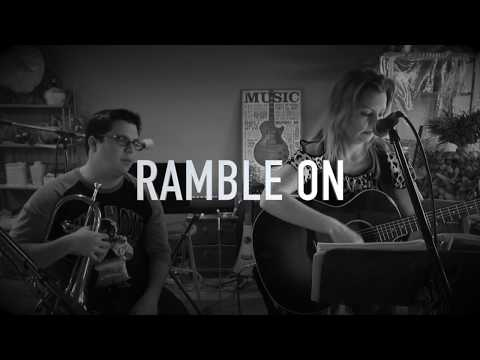 Ramble on Song Cover Crystal Marie