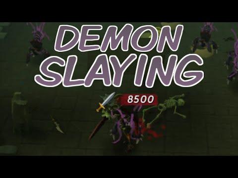 Demon Slaying Gear: Bonus XP And Damage VS Demons! [Runescape 2014]
