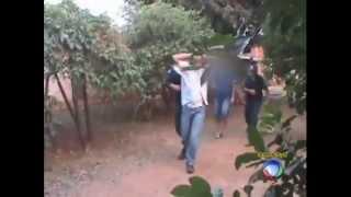 DOMINGO ESPETACULAR - Veja como funcionam as bases secretas da polícia no Mato Grosso do Sul