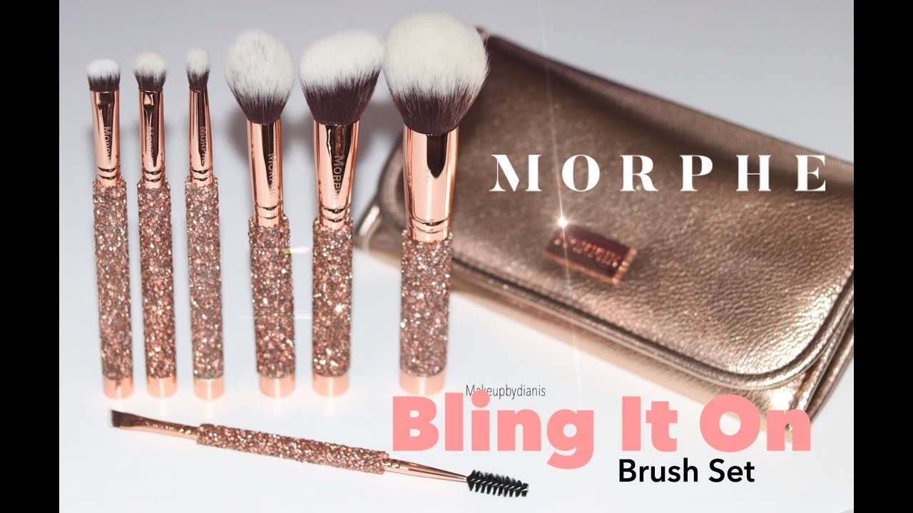 Morphe Bling It On Holiday Brush Set Youtube Check out our morphe brushes selection for the very best in unique or custom, handmade pieces from our makeup tools & brushes shops. morphe bling it on holiday brush set