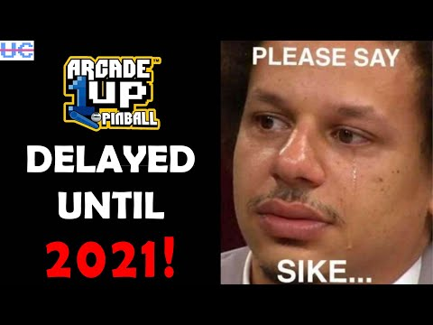 BREAKING: Arcade1up Pinball Delayed to April 30 2021! from Unqualified Critics