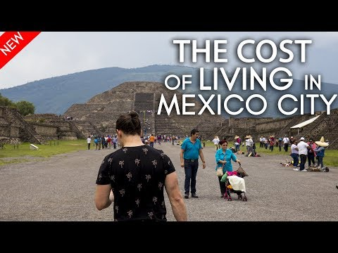 The cost of living in Mexico City