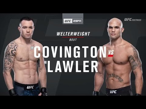 UFC Fight Night results, highlights: Colby Covington dominates ...