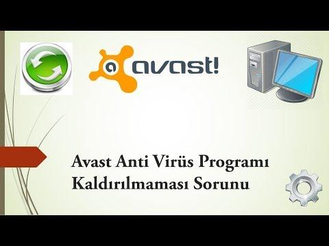 Avast Anti Virüs Programı Kaldırılmaması Sorunu !
