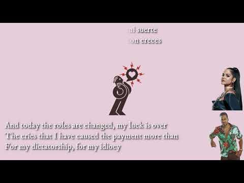 Natti Natasha X Romeo Santos – La Mejor Versión De Mi (Remix)( Letra / Lyrics / English Translation)