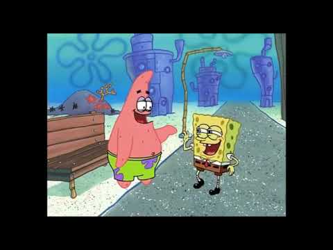 Spongebob Zijn Lach Remixwel In Het Engels