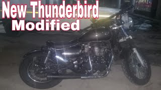 New Thunderbird Modified || 350cc BSIV