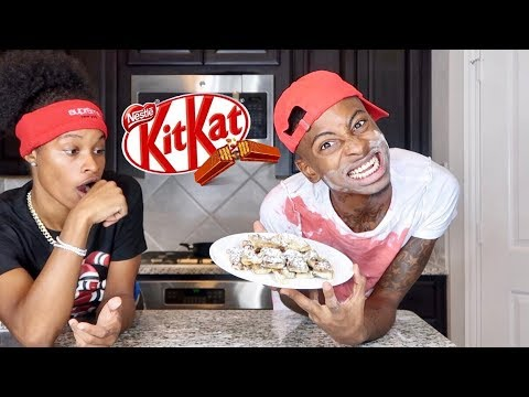 HOW TO MAKE FRIED KITKAT'S W/ CRACKHEAD BOBBY & PERFECTLAUGHS!!!