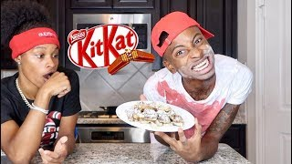 HOW TO MAKE FRIED KITKAT