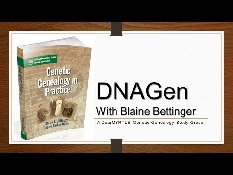 DNAGen - Open Q&A With Blaine Bettinger