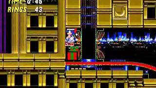Sonic 2 - Christmas Edition - Vizzed.com GamePlay (rom hack): Part 1 - User video