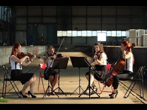 Dernière Danse by Indila - Pandora Quartet  (cover)