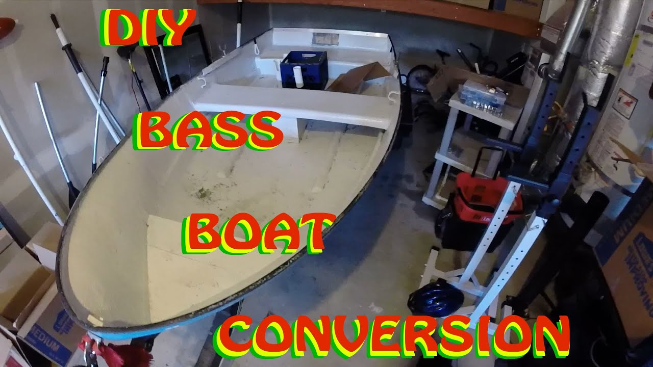 DIY Mini Bass Boat Conversion - YouTube