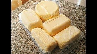 Как взбить сливочное масло//How to beat the butter.