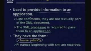 Lecture -16 Extensible Markup Language (XML)