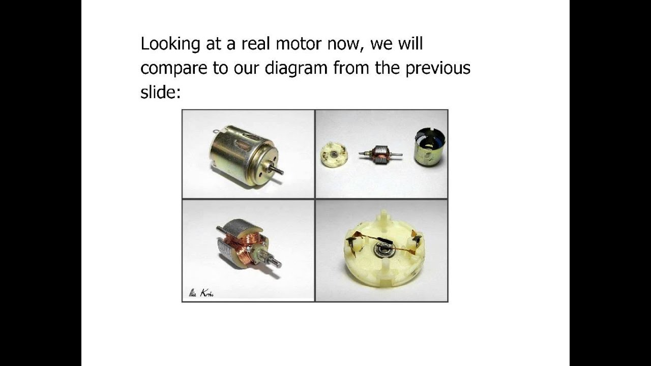 Physics lesson 91 dc motor structure youtube physics lesson 91 dc motor structure pooptronica Choice Image