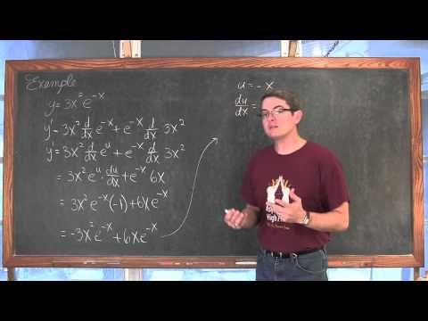 Derivative of Natural Exponential Function