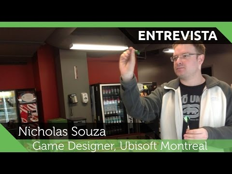 IDJ Entrevista: Nicholas Souza (Game Designer na Ubisoft Montreal)