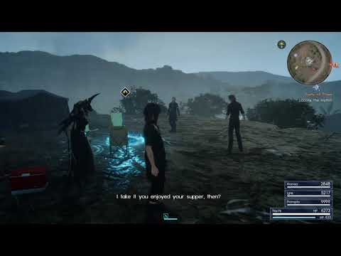 Aranea tries to hire Ignis