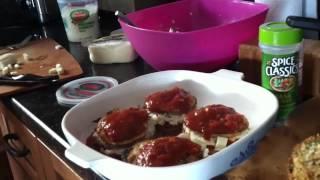 Quick Eggplant Parm W Ricotta