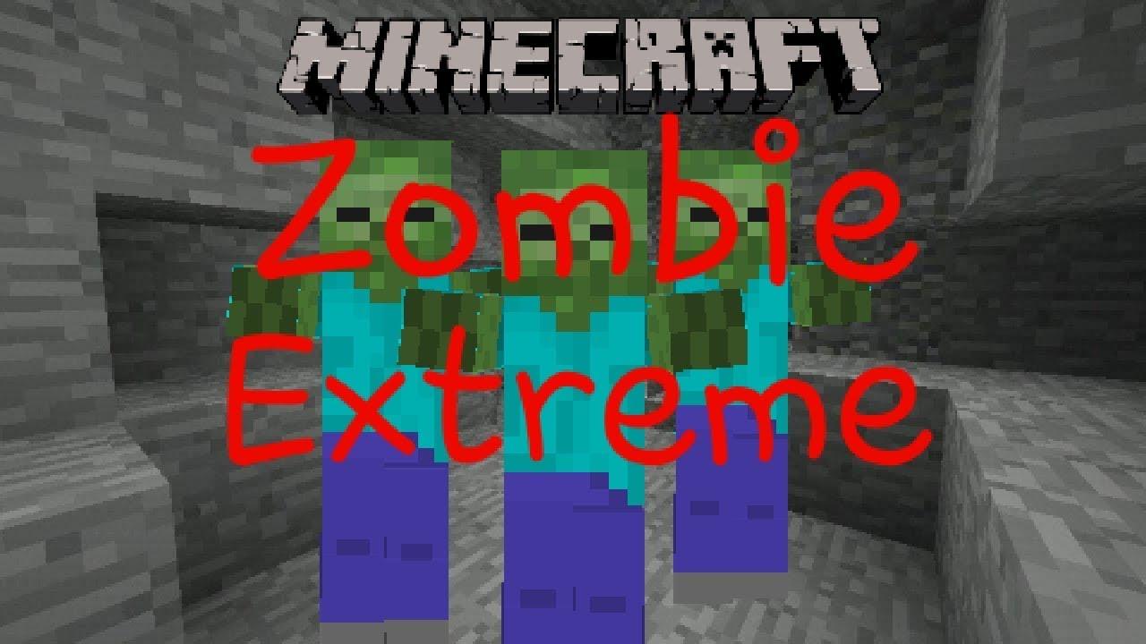 Экстрим зомби майнкрафт