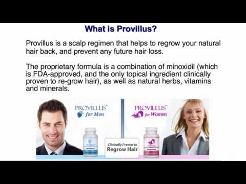 Provillus Provillus For Hair Loss Review Provillus Treatment